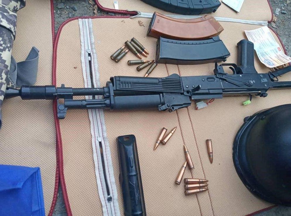 Сотрудники столичной милиции задержали подозреваемого в совершении хулиганства с применением оружия