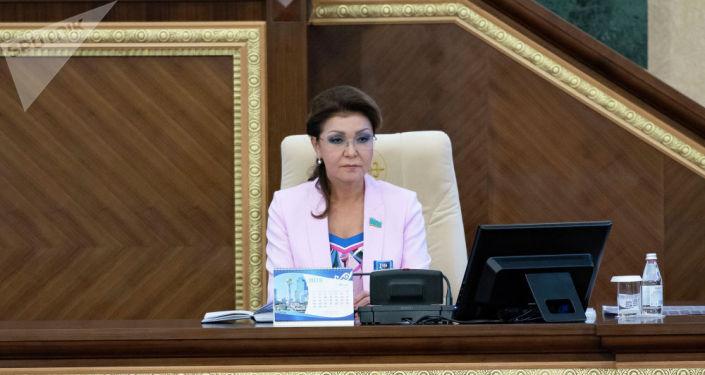 Спикер верхней палаты парламента Казахстана Дарига Назарбаева