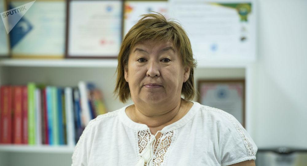 Бишкек шаардык мэриясынын Билим берүү башкармалыгынын башкы адиси Чынара Майтикова
