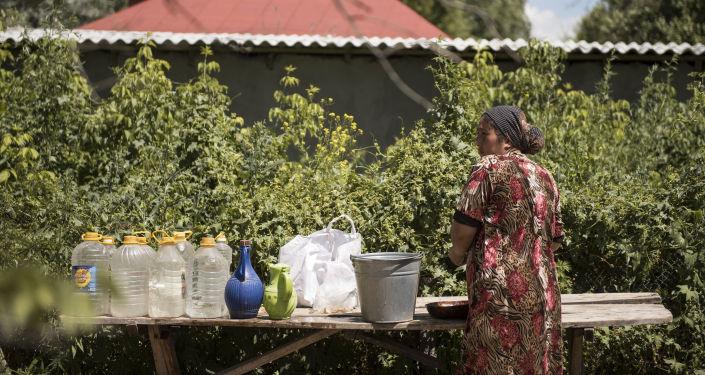 Баткен айылы. Архивдик сүрөт