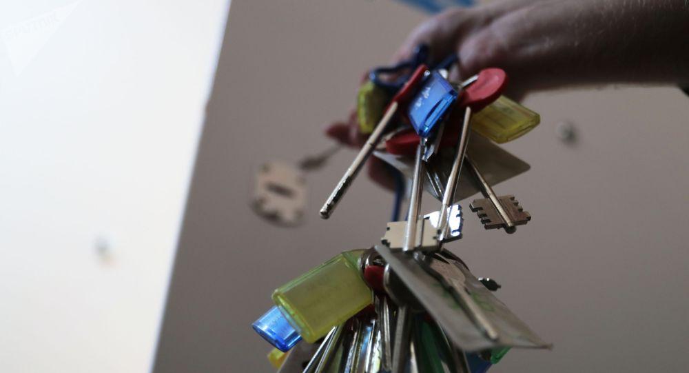 Ключи от квартир. Архивное фото
