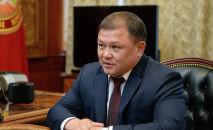 Жогорку Кеңештин төрагасы Дастан Жумабеков. Архивдик сүрөт