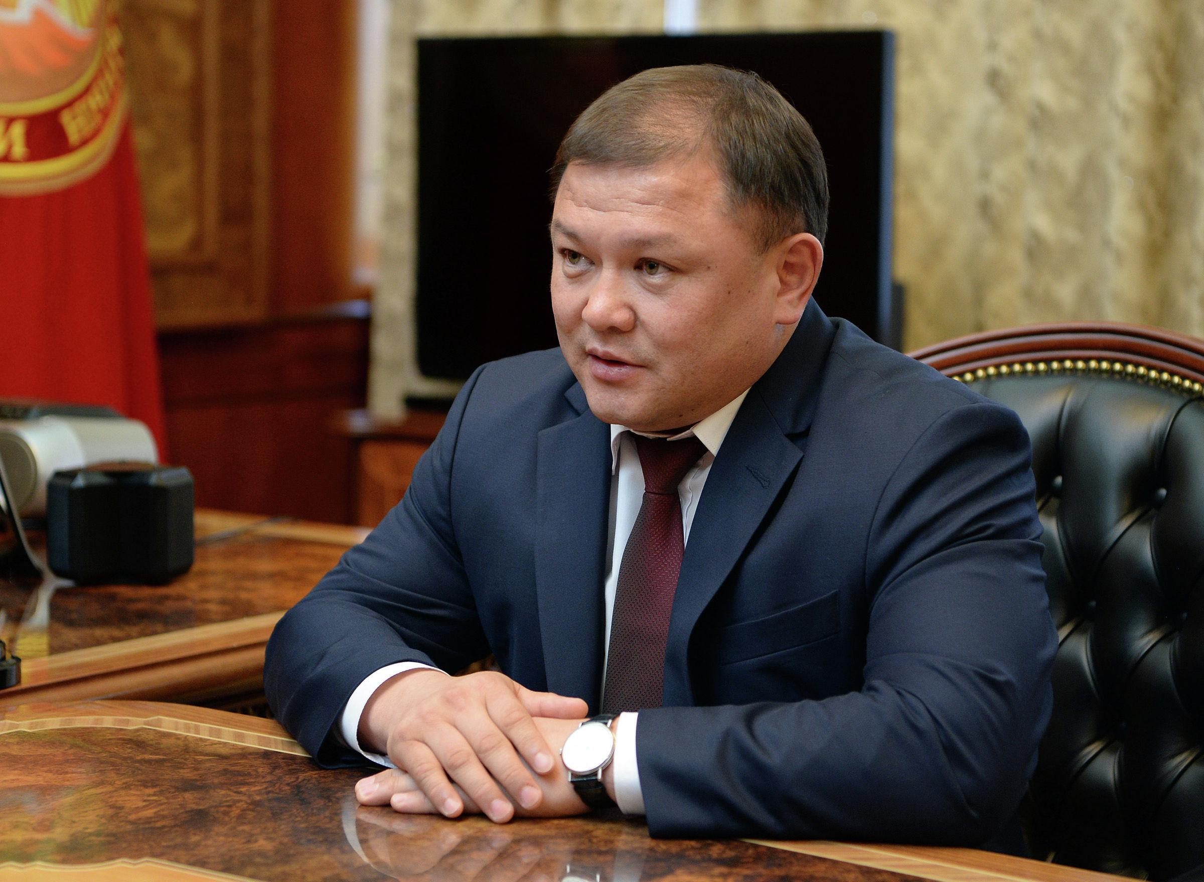 Торага Жогорку Кенеша Кыргызской Республики Дастанбек Джумабеков