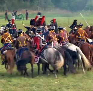 В Подмосковье реконструкторы воссоздали одно из знаменитых сражений, произошедших 207 лет назад — Бородинскую битву.