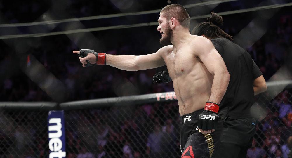 Российский боец UFC Хабиб Нурмагомедов. Архивное фото