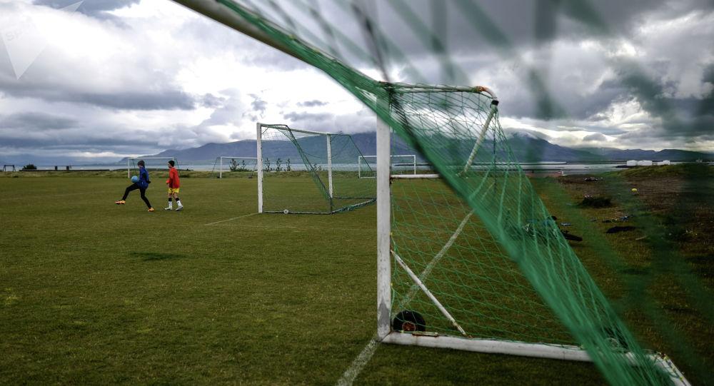 Футбольные ворота. Архивное фото