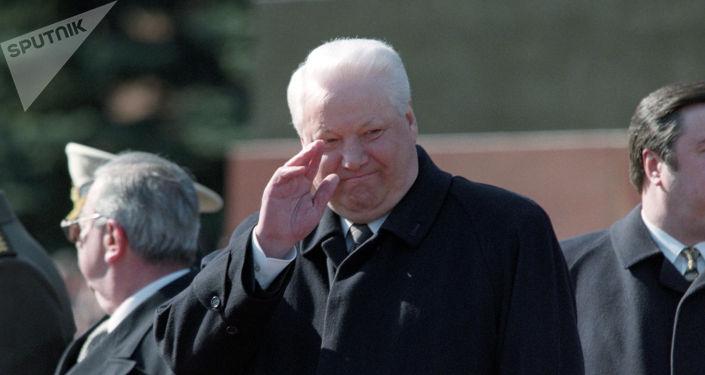 Бывший президент РФ Борис Ельцин. Архивное фото
