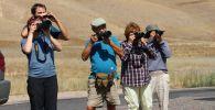 В двух государственных природных парках Кыргызстана — Алатай и Кан-Ачуу — побывала группа фотоохотников, чтобы изучить местных птиц и проработать возможности развития экотуризма