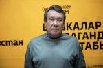Заместитель председателя Кыргызского общества блокадников Ленинграда Марат Кутанов в беседе на радио Spuntik Кыргызстан