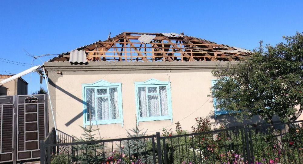 В Караколе в ночь с 10 на 11 сентября прошел ураган