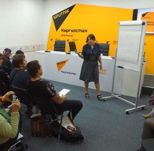 Медиаменеджер, продюсер и журналист Наталья Лосева выступила перед кыргызстанскими коллегами и рассказала о новых форматах журналистики.