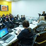 Мастер-класс Натальи Лосевой для журналистов кыргызстанских СМИ в рамках SputnikPro