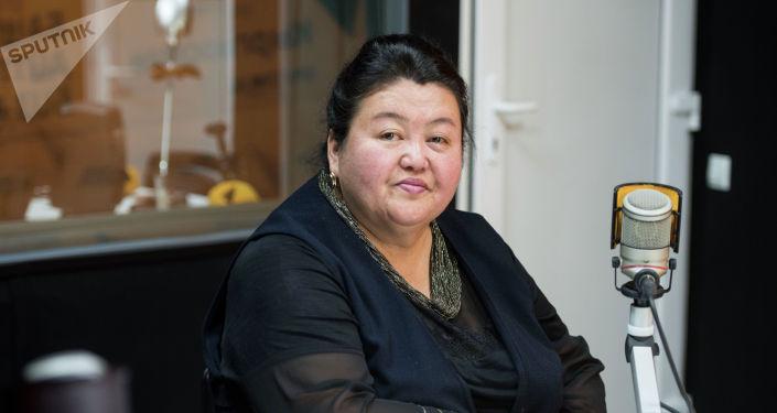 Заведующая отделом инноваций и науки Кыргызской академии образования Дамира Жумабаева