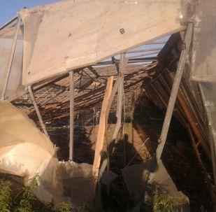 Ысык-Көл облусунда ылдамдыгы 25 метрге жеткен катуу шамал болуп, 30дан ашык турак жайдын чатырын алды