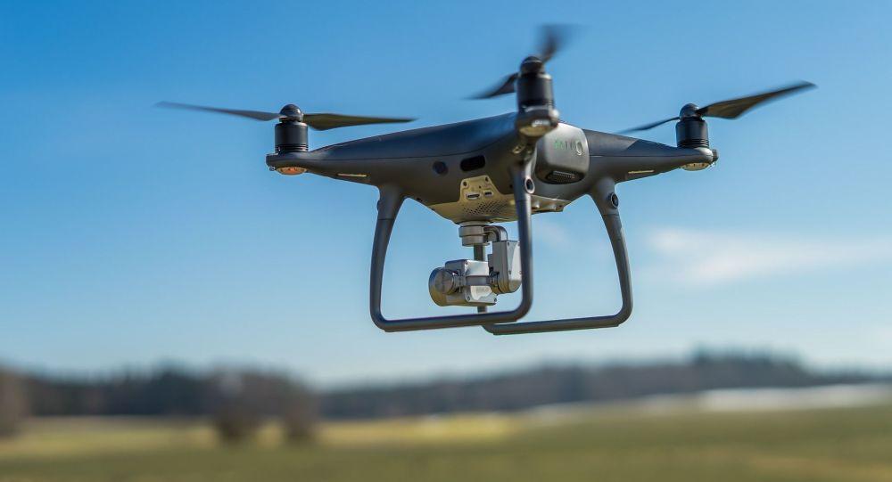 Съемки с дрона. Архивное фото