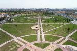 Вид на новый парк на пересечении Южной магистрали и проспекта Чингиза Айтматова в Бишкеке. Архивное фото