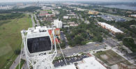 Вид города Орландо в штате Флорида, США. Архивное фото