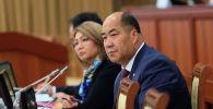 Назначенный министром образования и науки КР Каныбек Исаков