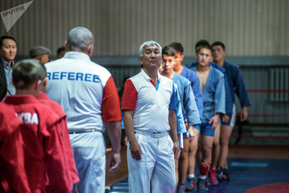 Товарищеский турнир по самбо прошел в Бишкеке в рамках Дней Москвы