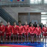Российскую столицу представляли 9 спортсменов. Они выходили на ковер в красном кимоно.