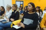 Лосева дала мастер-класс бишкекским студентам, где рассказала о трендах современной журналистики и необходимости борьбы с фейковыми новостями.