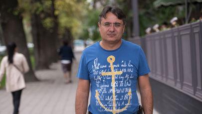 Президент и ведущий ОО КВН Кыргызстана Евгений Акопян