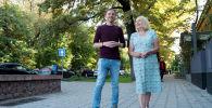 Британка Джейн Моубрей и бишкечанин Конев Руслан