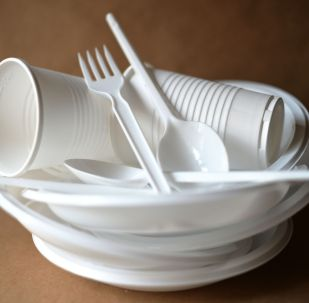 Пластик идиш-аяктар. Архив