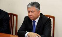 Тажикстандын Кыргызстандагы элчиси Сухроб Олимзода. Архив
