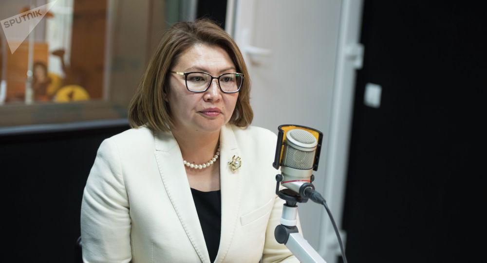 Вице-премьер Алтынай Өмүрбекова