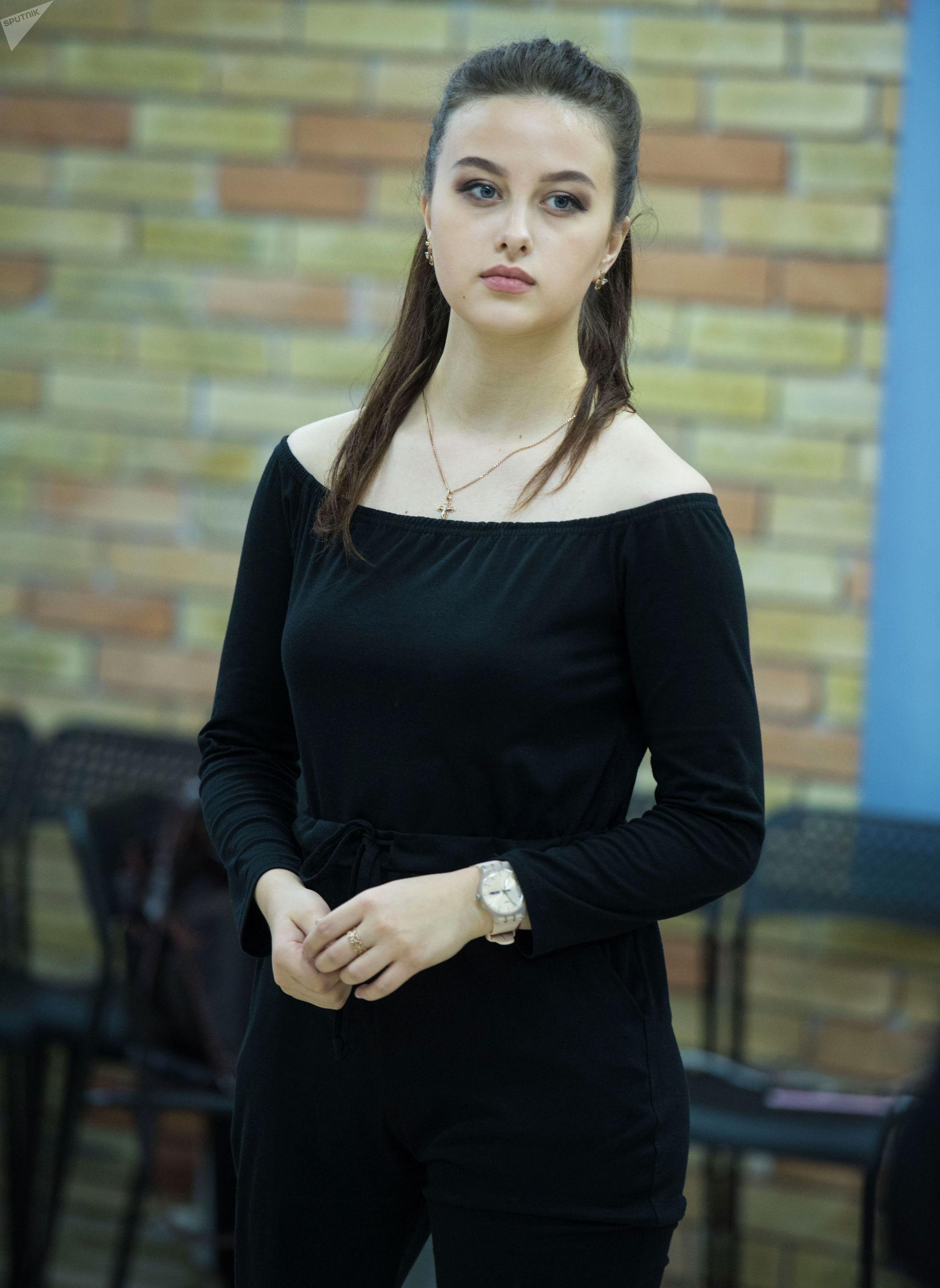 Участница Мисс Кыргызстан — 2019 Ангелина Гаранина