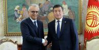 Президент Кыргызской Республики Сооронбай Жээнбеков встретился с президентом Азиатской футбольной конфедерации (АФК) Салман бин Ибрагим Аль Халифом. 18 сентября 2019 года