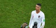 Португальский футболист Криштиану Роналду. Архивное фото