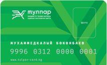 Эскиз платных карт для системы электронного билетирования в Бишкеке