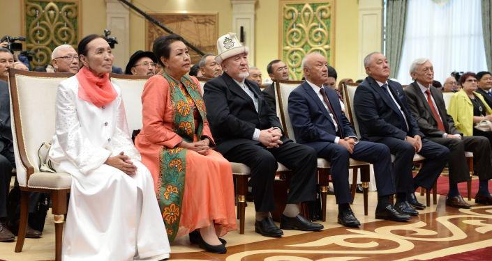 Церемония вручения государственных наград в Государственной резиденции Ала-Арча. 19 сентября, 2019 года