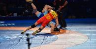 Балбандардын сап башы Айсулуу Тыныбекова дүйнө чемпионатынын жарым финалында түндүк кореялык Йонг Сим Римди 8:0 эсеби менен утуп, финалга чыкты.