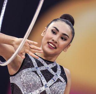 Азербайжанда өтүп жаткан дүйнө чемпионатына кыргызстандык кыз Айша Изабекова катышып жатат