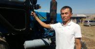 Житель Села Сафаровка 34-летний Медетбек Абжапаров, похож на президента России Владимира Путина. Архивное фото