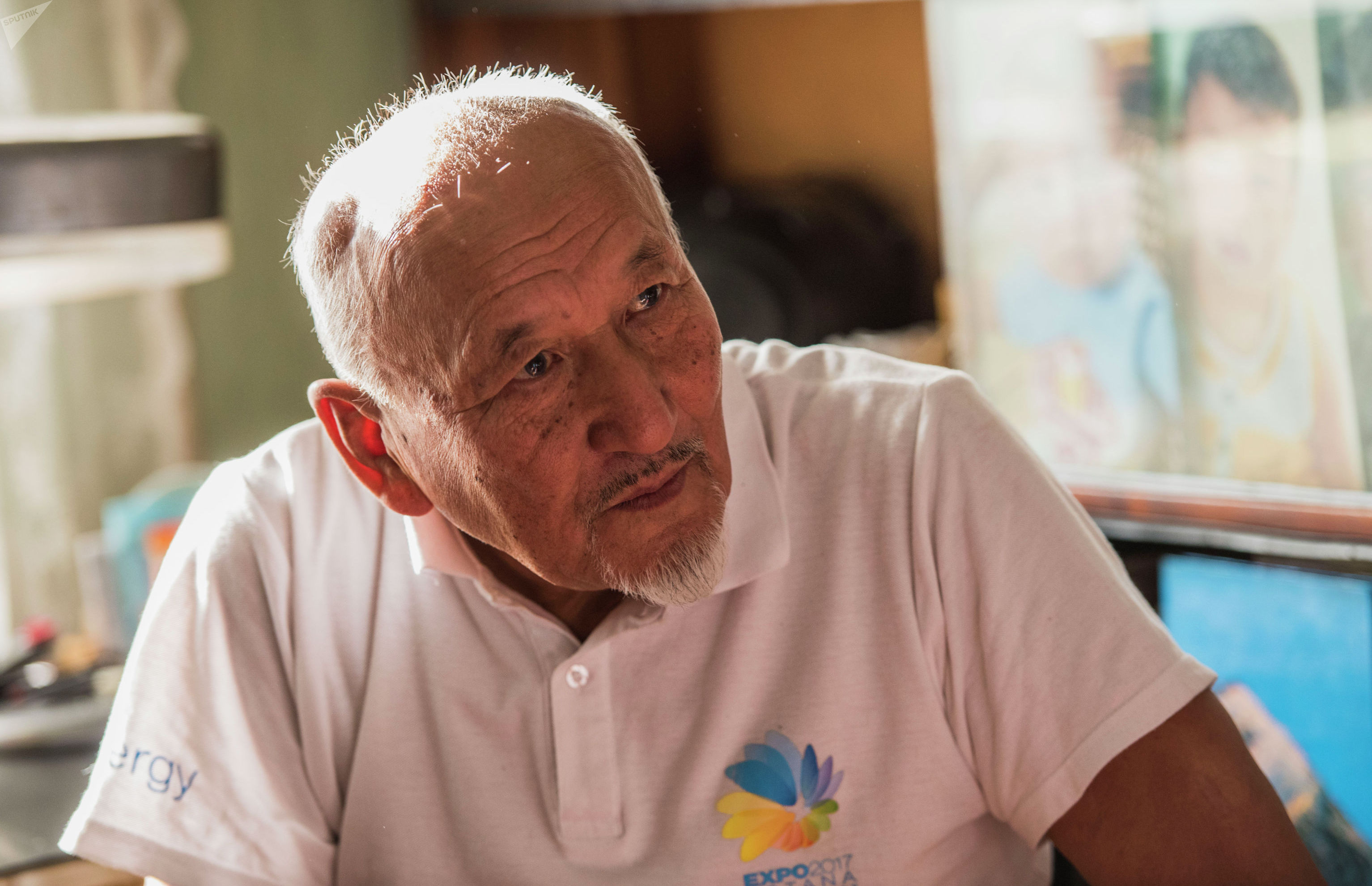Профессор, доктор геолого-минерологических наук Кубат Осмонбетов во время интервью корреспонденту Sputnik Кыргызстан