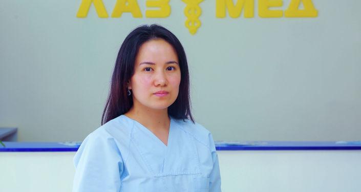 Борборубуздагы жеке клиникалардын биринин дарыгери, акушер-гинеколог Аида Арстанбекова