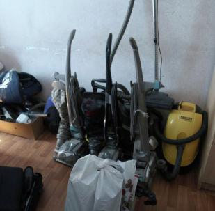 Бишкектеги үйлөрдүн биринен уурдалган буюмдар табылды