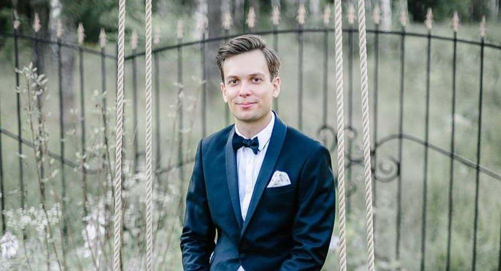 Ведущий тожественных мероприятий Андрей Новиков