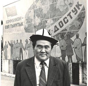 Мамлекеттик жана коомдук ишмер Султан Ибраимов. Архив