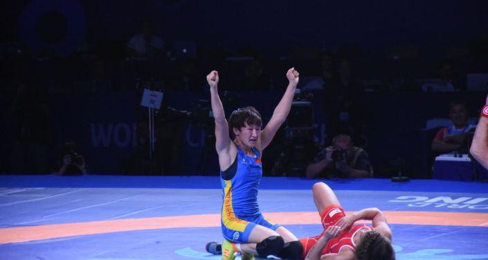 Кыргызстандык спортчу  Айсулуу Тыныбекова