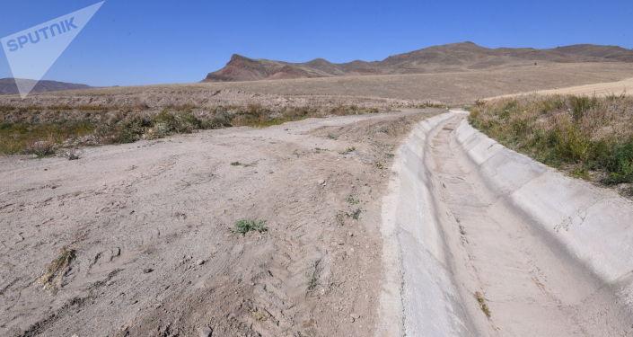 Передана на использование 320 метровый канал в Аральском айыл окмоту в Таласском районе