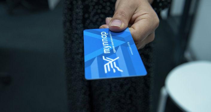 Платные карты Тулпар в руках у девушки. Архивное фото