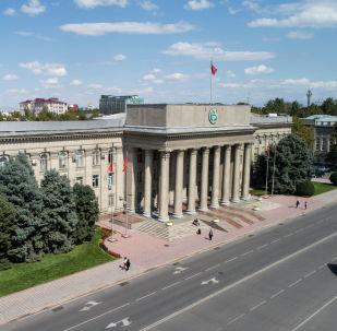 Старая площадь Бишкека. Архивное фото
