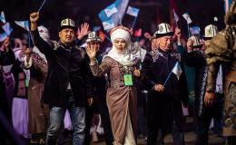 Биринчи Улуттук көчмөндөр оюндары (УКО) Талас облусунда өттү. Оюндар 16-сентябрда башталып, 21-сентябрга чейин созулду. Ага өлкөнүн жети облусу жана Бишкек, Ош шаарлары катышты.