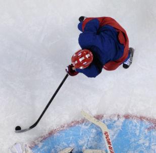 Хоккеистка. Архивное фото