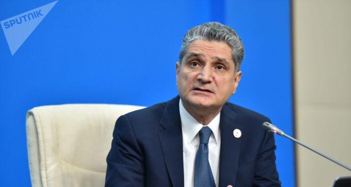 Архивное фото председатель коллегии Евразийской экономической комиссии (ЕЭК) Тиграна Саркисяна